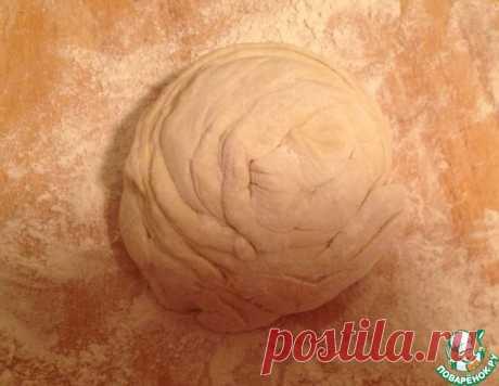 Быстрое бездрожжевое слоёное тесто по-грузински – кулинарный рецепт