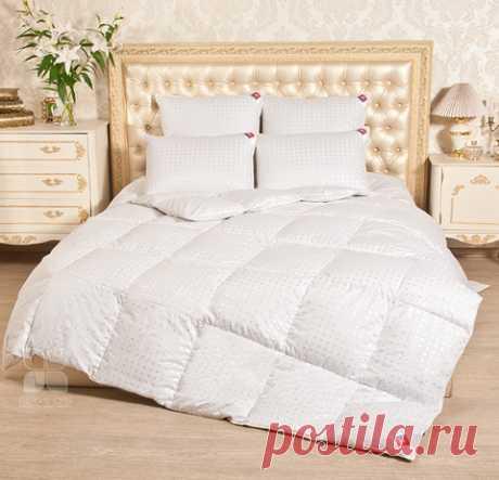 Одеяло Афродита пуховое 172*205 Тёплое (Лёгкие сны) 172(16)02-ЛЭ