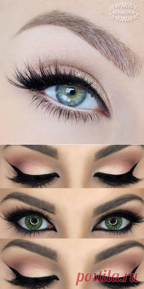 Правильно рисуем стрелки на глазах: 6 вариантов на любой случай  >>> Кликайте на фото, чтобы посмотреть