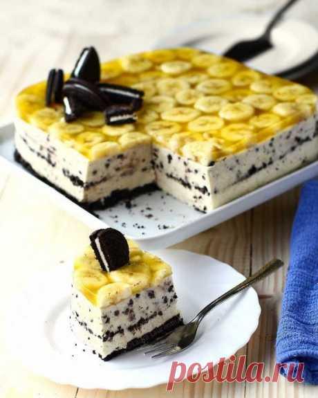 """Торт """"Банорео"""" без выпечки"""