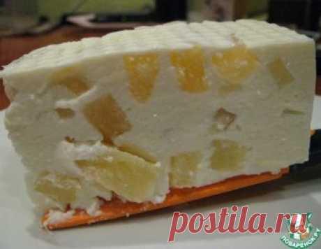 Творожный десерт с ананасом – кулинарный рецепт