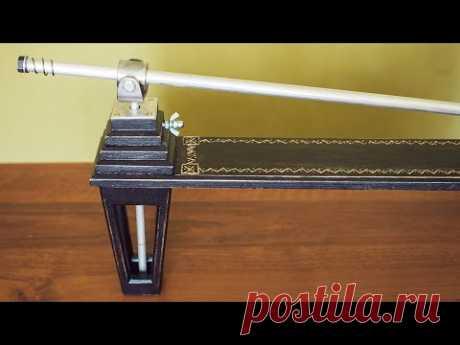 Самодельный станок для спусков и заточки ножей. diy knife sharpener by berendey