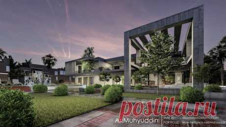 Farm House Landscape Design | Architecture project 1 – Architecture Design