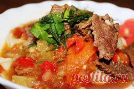 Лагман из говядины — Sloosh – кулинарные рецепты