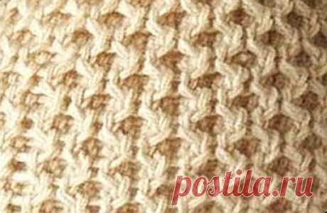 Схема вязания спицами соты: 10 вариантов выполнения узора, фото