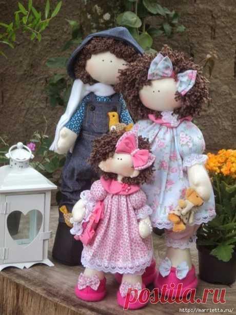 Шьем куколку ДОЛЛИ. Фото мастер-класс и выкройки