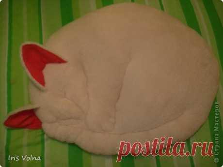 Японские кошко-подушки. И моя попытка сшить похожую.