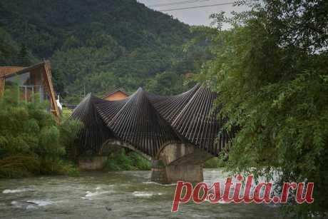 Удивительная выставка бамбуковой архитектуры / Туристический спутник