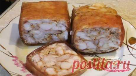 """Куриная ветчина в пакете """"Самая простая"""" - сайт кулинарии"""
