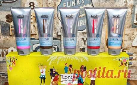 Изменить цвет волос на время, реальность с TonePlex от Londa | GaliPanBlog | Яндекс Дзен