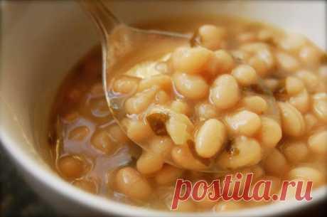 Рецепт диетического фасолевого супа для диабетиков