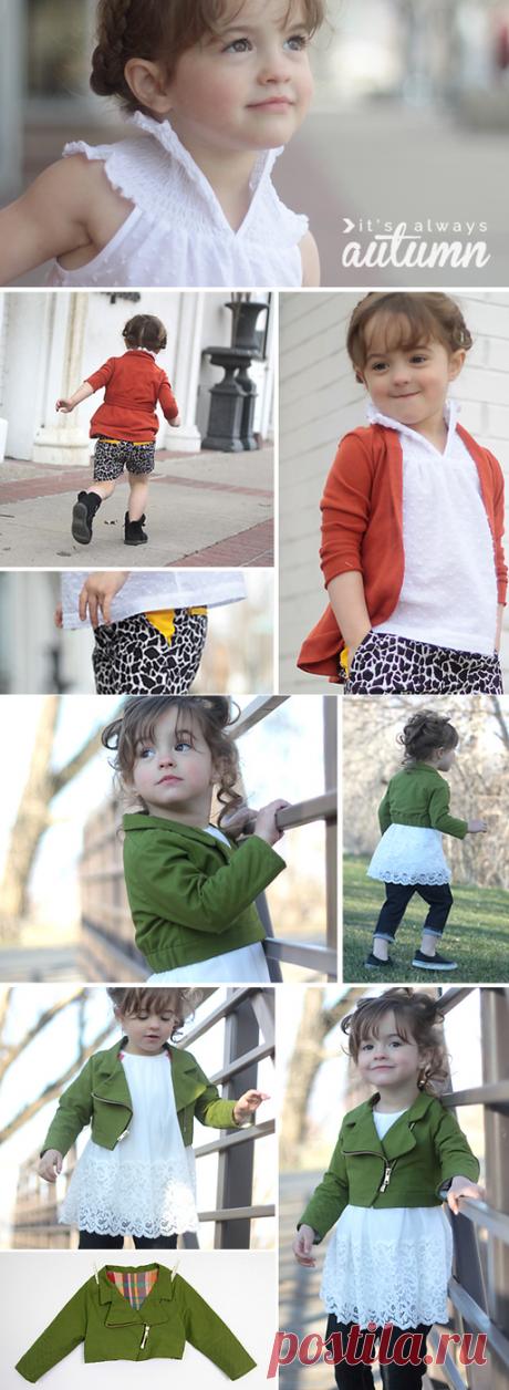 Детские модели!Идеи для пошива гардероба..