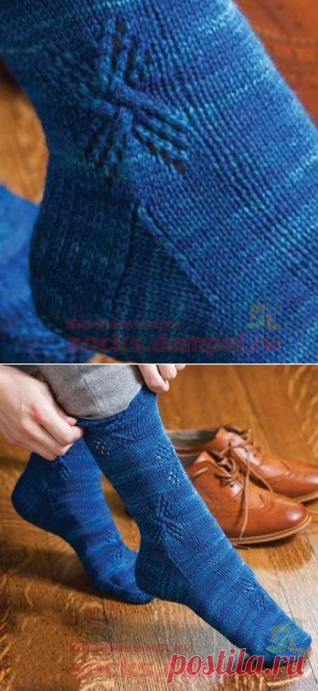 Knitted Windmill socks