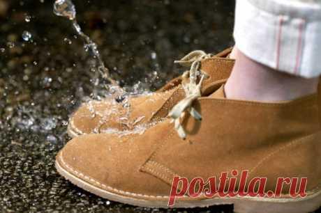 Защитите свои ботинки от промокания самостоятельно — Полезные советы