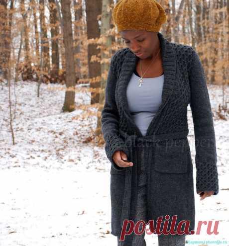 Gksia — ADELINE серое пальто.