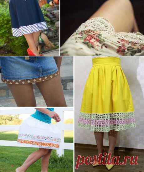 Как удлинить платье: Советы стилистов, как удлинить платье