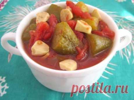 Огурцы в томате (без томатного сока) : Огурцы