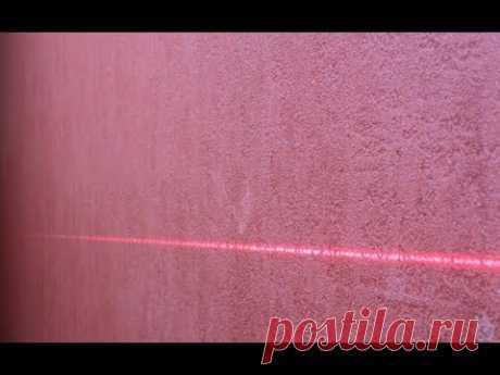 ✅ Что делать если не видно луча от лазерного уровня