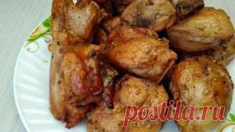 Нереально вкусно! Курица в духовке без возни