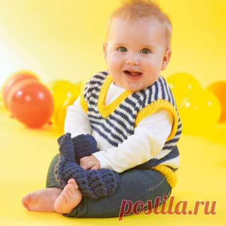 Детская безрукавка спицами схема фото 411