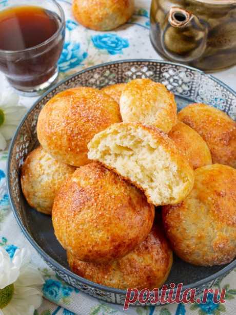 Рецепт быстрых творожных булочек без дрожжей на Вкусном Блоге