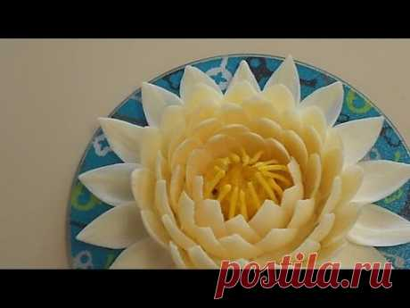 Украшения из шоколада – цветок лотоса. Видео - фантастический красивый цветок из шоколада сделать проще простого, видео с описанием