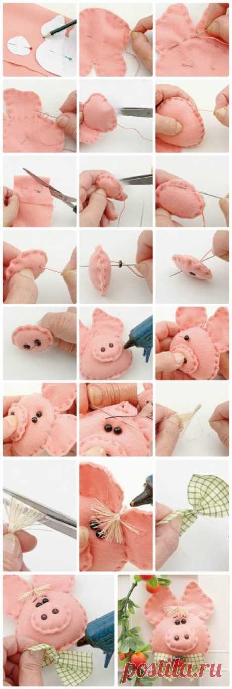 Свинья - символ года 2019 своими руками: мастер-класс, пошаговые схемы, фото идеи в домашних условиях - Рисунки карандашом поэтапно