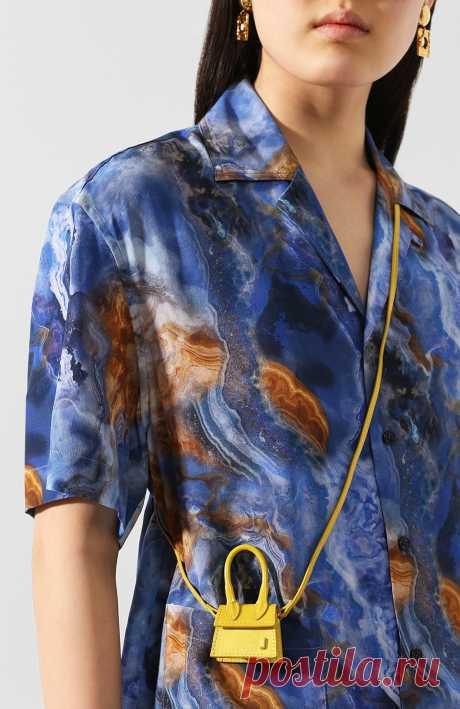 Женская желтая сумка le petit chiquito JACQUEMUS — купить за 17150 руб. в интернет-магазине ЦУМ, арт. 201AC18/60250