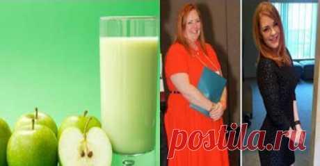 Вкусно и полезно! Яблочный коктейль, который поможет вам сбросить вес! | Диеты со всего света