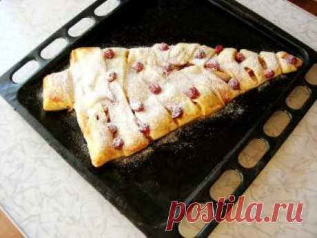 Пирог елочка