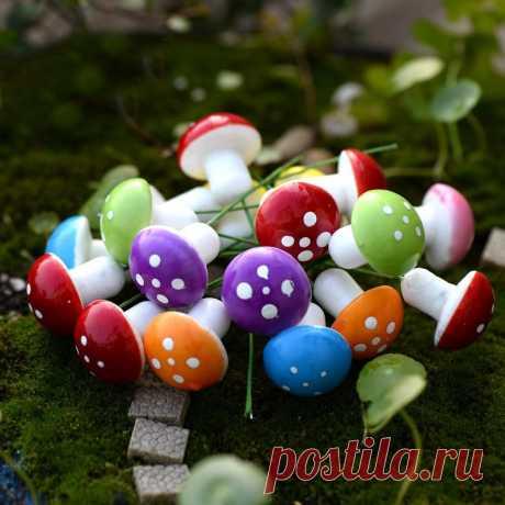 152.75руб. 10% СКИДКА|20 шт. красные/разноцветные поролоновые грибы, миниатюрные фигурки для сказочного сада, бутылка из серии «сделай сам», декоративные Ландшафтные грибы, декоративные фигуры|miniatures decoration for garden|miniature mushroomminiature garden fairies | АлиЭкспресс Покупай умнее, живи веселее! Aliexpress.com