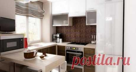 Оформление маленькой кухни в квартире - 20 фото Оформление маленькой кухни в квартире считается достаточно сложным делом, потому что необходимо не только продумать дизайн, но и расположить определенное количество мебели. Кроме этого, эта комната должна быть функциональной и уютной. Чтобы подобрать соответствующую...