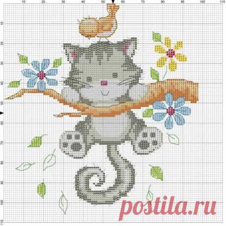 Кошка в кармашке вышивка крестом: 11 тыс изображений найдено в Яндекс.Картинках