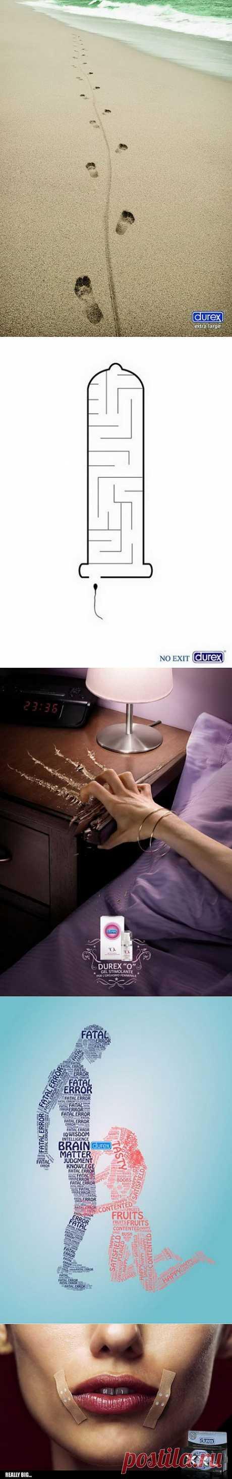 Обзор оригинальной рекламы Durex: для тех, кому не спится