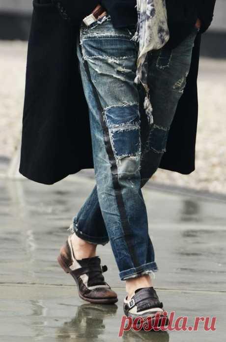 """Японские заплатки, или """"Boro"""" в дизайне одежды. Часть вторая: современность – Ярмарка Мастеров"""