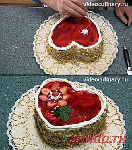 Торт Любовь - Видеокулинария.рф - видео-рецепты Бабушки Эммы