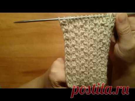 Вязание спицами:  ПЛОТНЫЙ РЕЛЬЕФНЫЙ УЗОР 33  для шапок # пуловеров