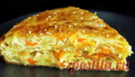 Простейший рецепт вкусного пирога с капустой