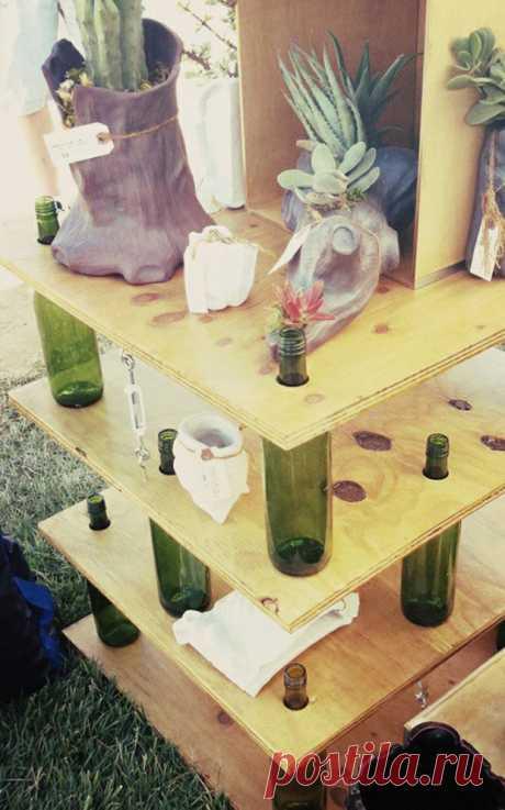 Столик-этажерка Модная одежда и дизайн интерьера своими руками