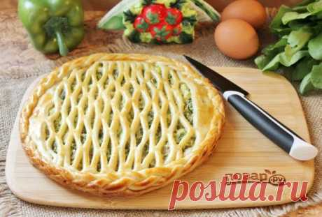 Пирог со щавелем и яйцом - пошаговый рецепт с фото на Повар.ру