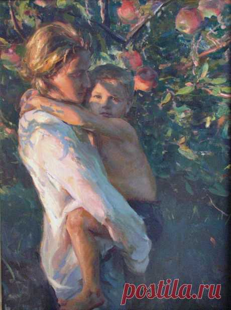 Прекрасные женские образы в творчестве Даниэля Герхартца (Daniel F. Gerhartz)
