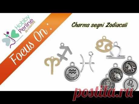 Charms segni Zodiacali | FOCUS ON - HobbyPerline.com