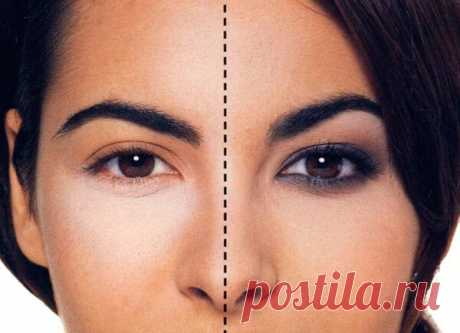 Как сделать глаза больше при помощи макияжа
