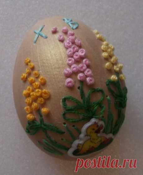"""Мастер-класс """"Пасхальные яйца. Вышивка на яичной скорлупе"""" — Вектор-успеха.рф"""