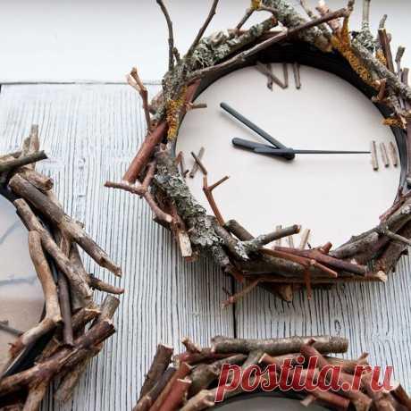 Мастер-класс. Как сделать декор для настенных часов | flqu.ru - квартирный вопрос. Блог о дизайне, ремонте