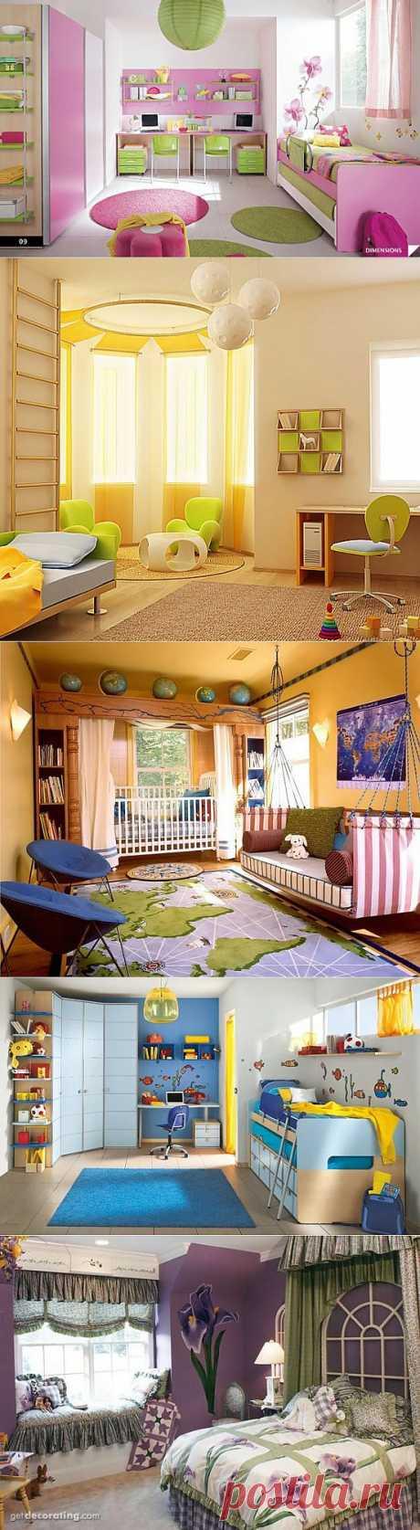 Какой должна быть детская комната?.