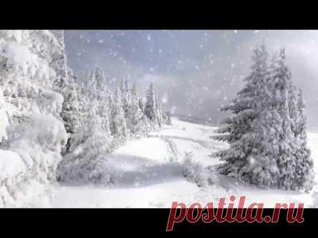Красивое поздравление с красивыми пожеланиями с днем рождения ! Зима !