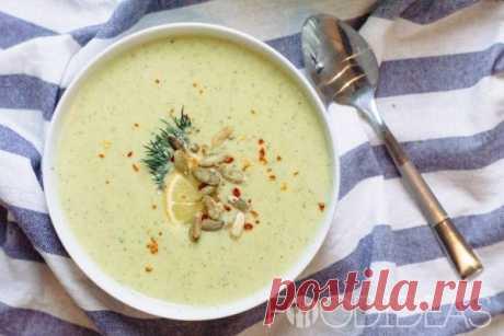 Кабачковый крем-суп - рецепт приготовления с фото
