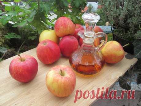 Диета на 5 дней: как быстро похудеть на яблочном уксусе