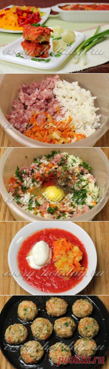 Los golubtsí perezosos con la coliflor: la receta de la foto